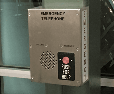 Flush Mount Dual Button Emergency Phone (T2100) install