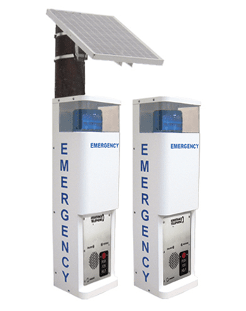 36 in Standard and Solar Blue Light Call Stations