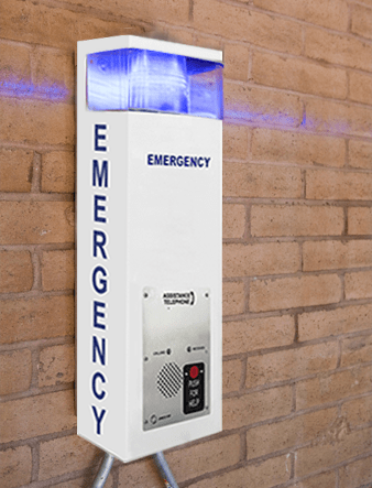 36 in Eco Call Station in a parking garage