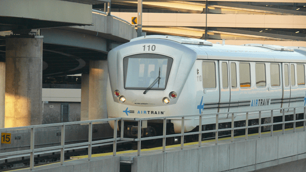 Janus custom engineered install for AirTrain at JFK International Airport included track phones and head-end testing software