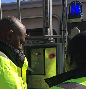 Janus custom engineered install for Washington Metro Transit Authority (WMATA) included track phones and head-end testing software