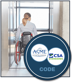 Elevator Code Requirements: Read applicable ASME and CSA Codes
