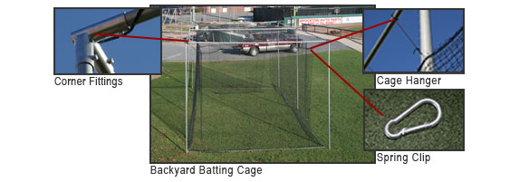 ProMounds Batting Cage Kit
