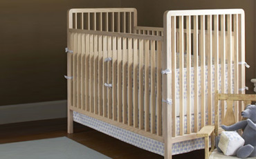 Eco Friendly Baby Cribs In Light Wood Free Shipping