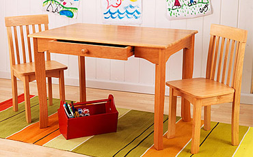 Shop Queen Anne Desk Chair Set Free Shipping Today >> Kids Table Chairs Sets Free Shipping