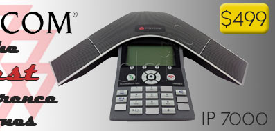 Buy a Refurbished Polycom SoundStation IP 7000 PoE Conference Phone