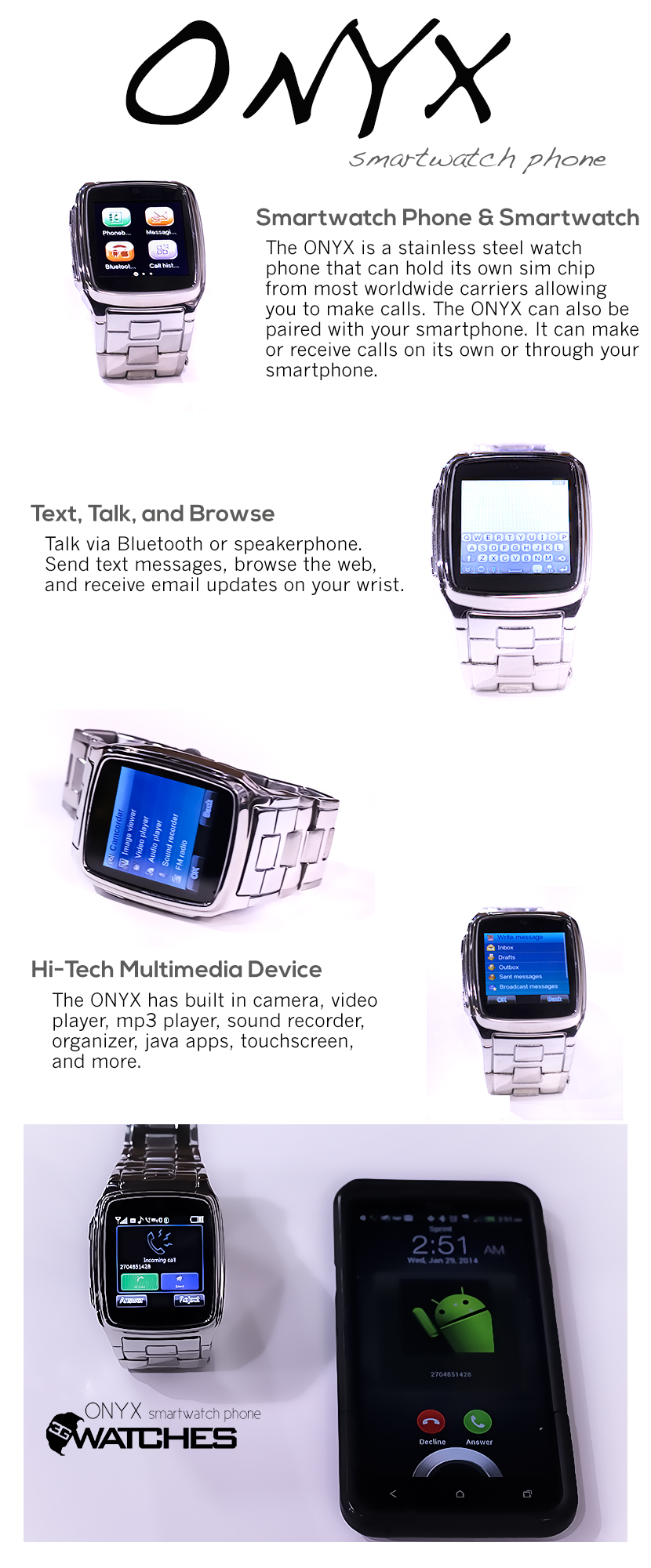 function watch screen smart ios camera v collections for android gsm cell phone touch bluetooth products phones watches