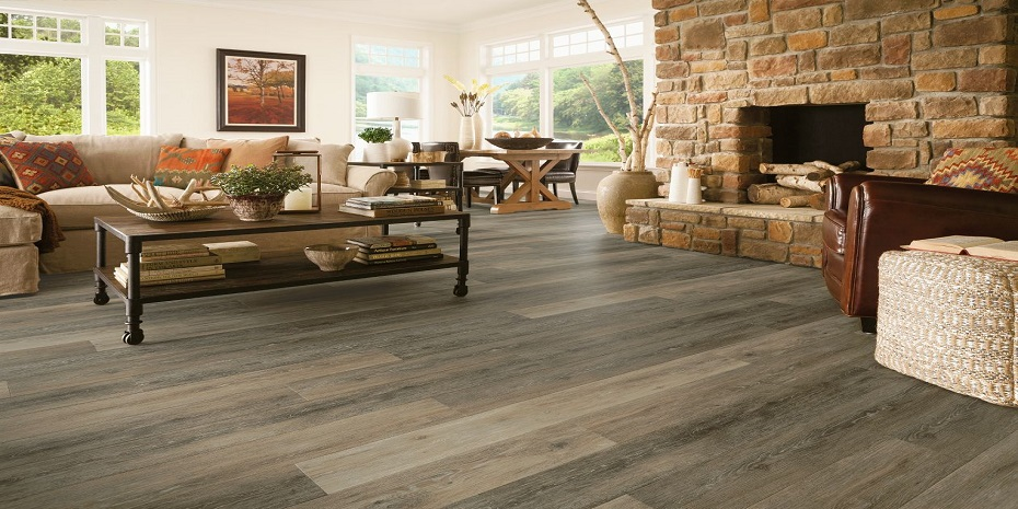Armstrong Luxe Fastak Primitive Forest Falcon Vinyl Flooring