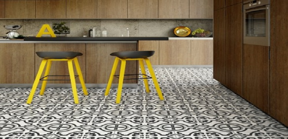 Interceramic Cementine Tile Flooring