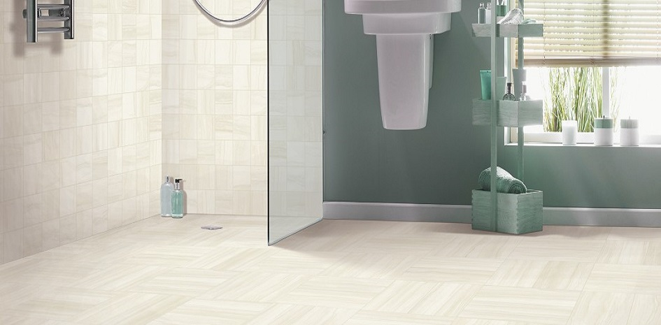 Mohawk Beaubridge Arctic White Tile Flooring