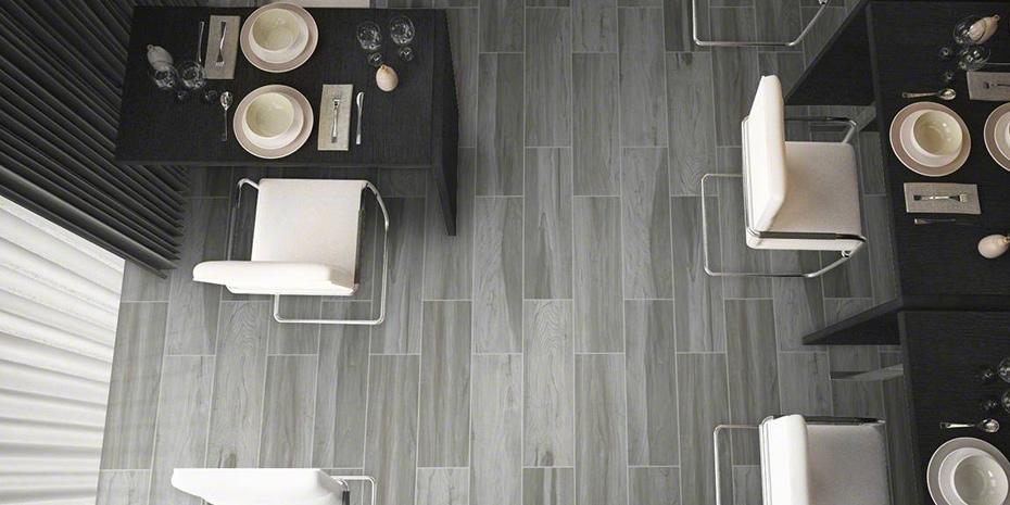 MS International Carolina Timber Grey Tile Flooring