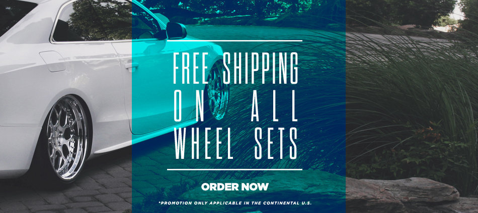 Free Shipping on All Wheel Sets