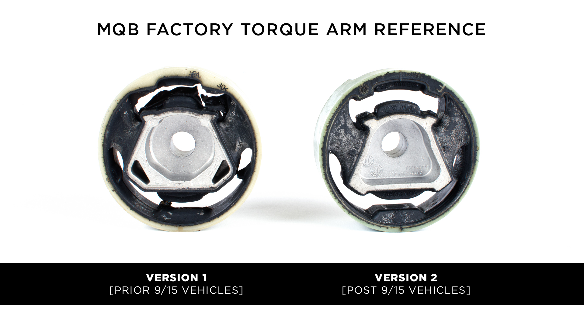 BFI MK7 Torque Arm Insert - Stage 1 - Version 2 - Post 9/15 vehicles