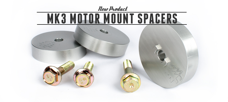 BFI MK3 Motor Mount Spacers