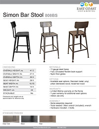 Simon Bar Stool