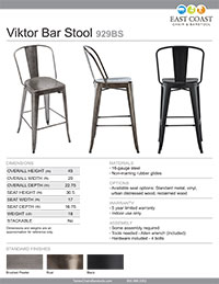 Viktor Bar Stool