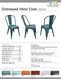 Distressed Viktor Chair