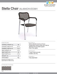 Mojave Commercial Outdoor Aluminum/Tan Resin Wicker Chair