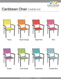 Caribbean Chair Silver