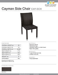 Cayman Side Chair
