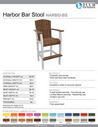 Harbor Collection Bar Stool