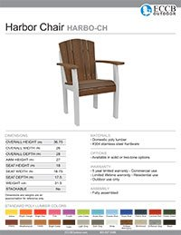 Harbor Collection Chair