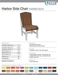 Harbor Collection Side Chair
