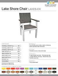 Lake Shore Collection Chair