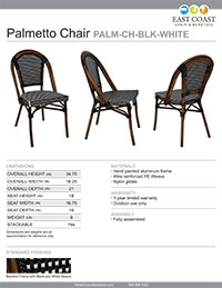 Palmetto Chair