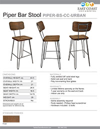 Piper Bar Stool