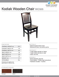 Kodiak Chair