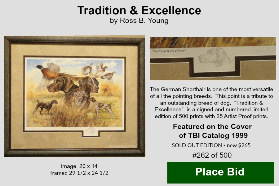 Tradition & Excellence – Ross B Young