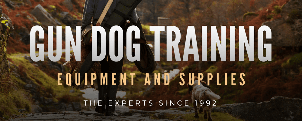 The Experts in Gun Dog Training Equipment & Supplies Since 1992.