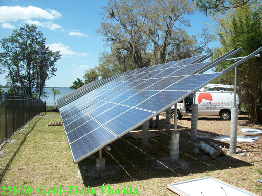 25kw Grid Tie In Florida