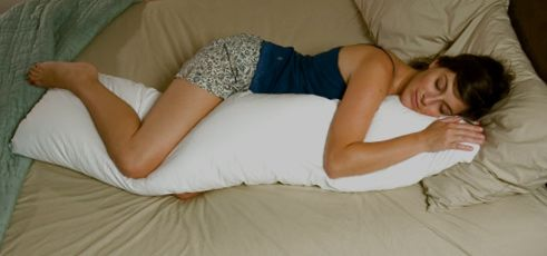 Traditional Straight Body Pillow