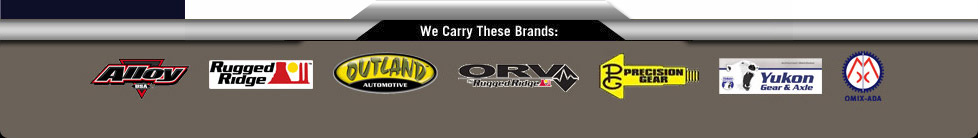 Authorized Retailer of All Omix-ADA Brands