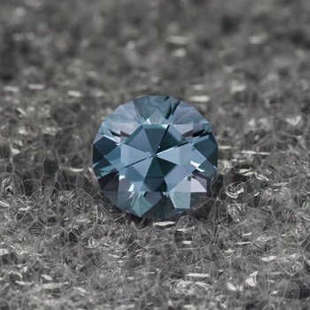Blue Spinel expertly cut