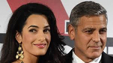 Mr. and Mrs. George Clooney
