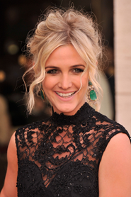 Ashlee Simpson and her signature smile