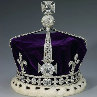 Koh-I-Noor Diamond set into Queen MOther's Crown