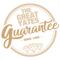 the great yates guarantee since 1988