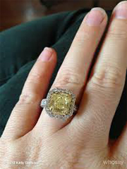 Iggy's enormous yellow diamond from Nick