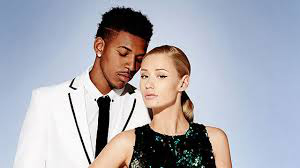 Iggy Azalea and her beau, Lakers basketball player Nick Young