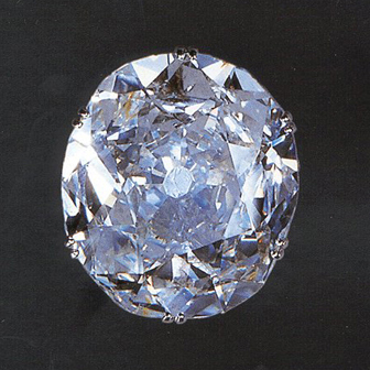 Koh-I-Noor Diamond - one of the worlds first oval cut diamonds