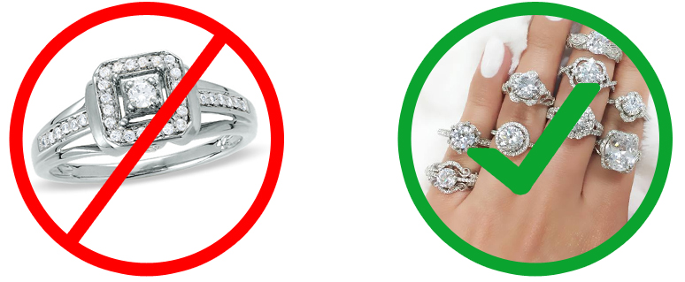 Do NOT buy jewelry from mall - Reason #5