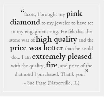 Real Pink Diamonds