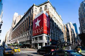 Macy's flagship store in Manhattan