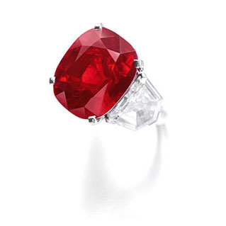 SOTHEBY'S RUBY RING