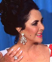 taylors late engagement ring the infamous krupp diamond - Elizabeth Taylor Wedding Ring