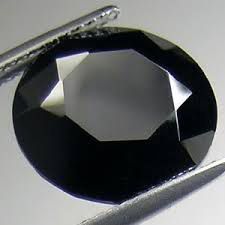 A fancy black diamond with exceptional color